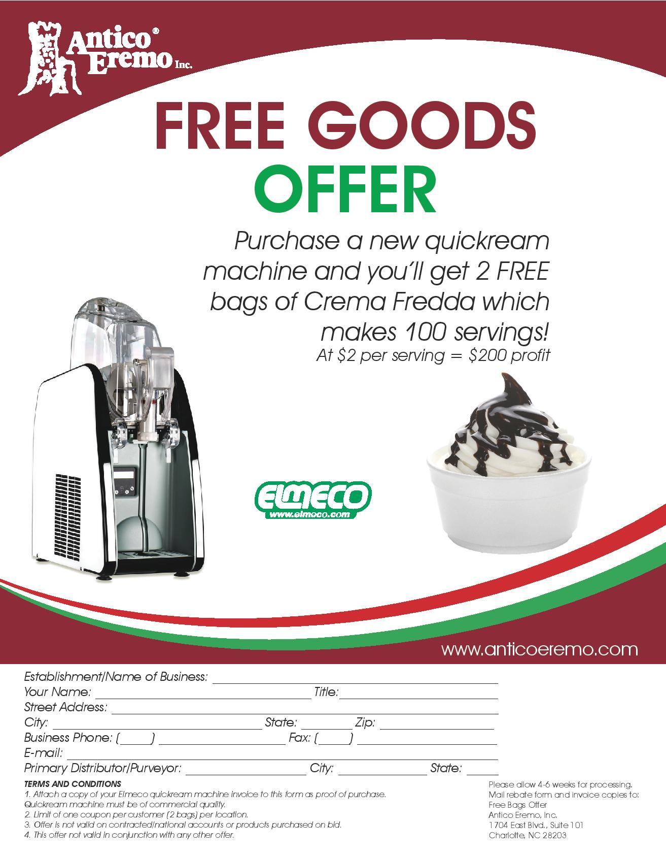Antico Eremo QK 2 free bags-page