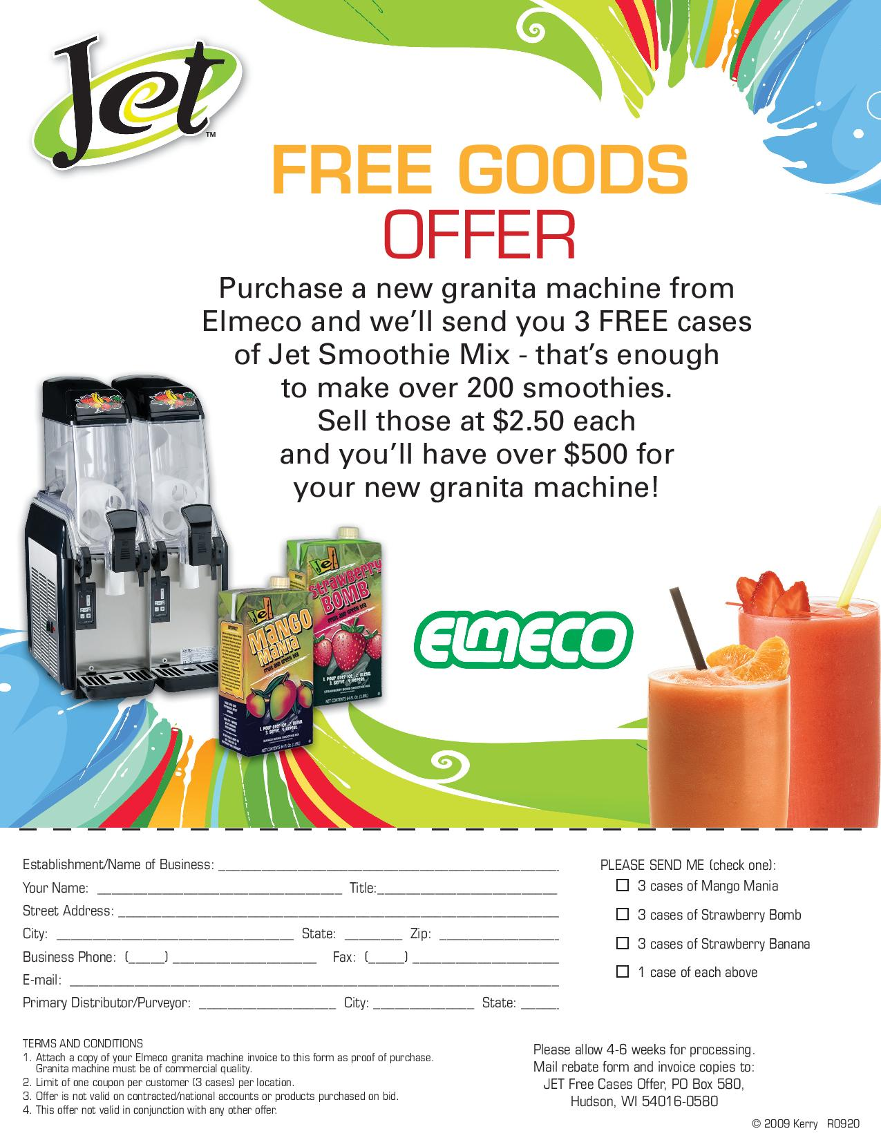 Jet Smoothie 3 free cases-page