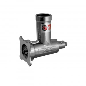 ALFA 12 SS CCA Complete Stainless Steel Meat Grinder Attachment