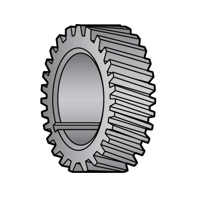Nylon Gear (Heavy Duty - Gray) for Globe Slicers