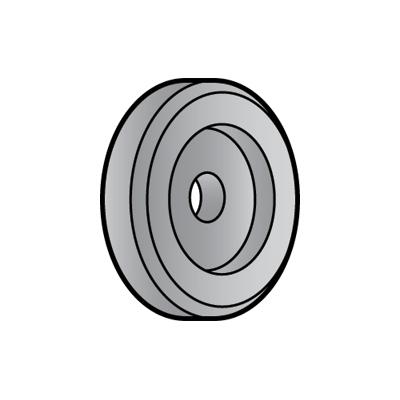 Globe Sharpening Stone - Coarse - Gray