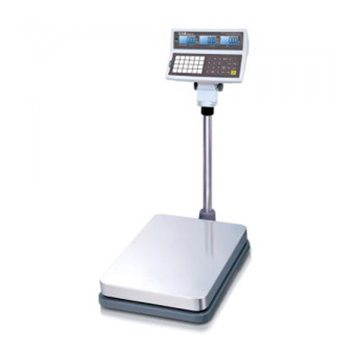 CAS Price Computing Bench Scale - LCD Display