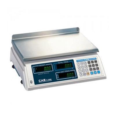 CAS S2000 Price Computing Scale VFD (KG) Display - 60lb Capacity