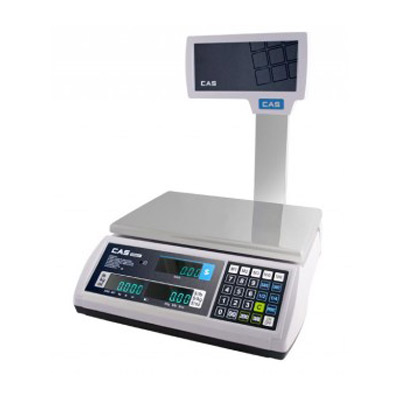 CAS Price Computing Scale With VFD Pole Display