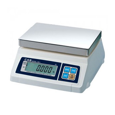 CAS Portion Control Scale With Rear Display - 50lb Capacity