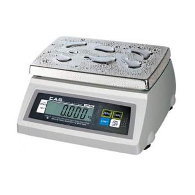CAS Water Resistant Portion Control Scale - 50lb Capacity