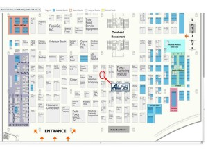 2015 FMI Connect Floorplan ALFA International Booth