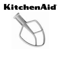 KitchenAid® KSMC50B 5 Quart Flat Beater For Stand Mixers NSF Approved