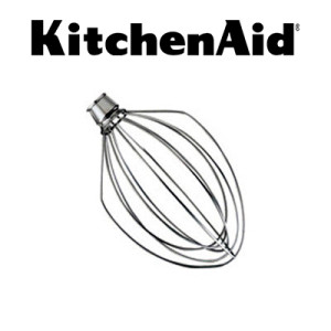 KitchenAid® K5AWW Stainless Steel Whip For 5 Quart Stand Mixer