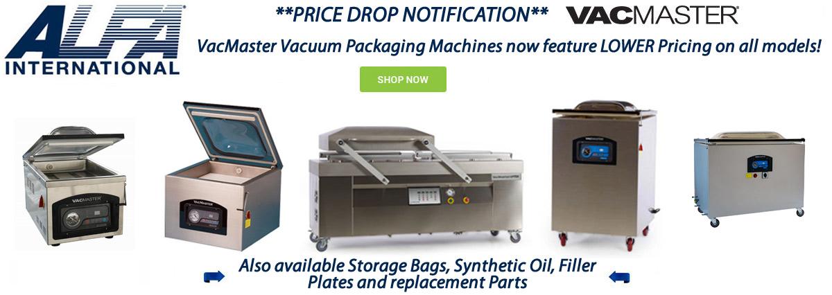 ARY Vacmaster Vacuum Packaging Machines On Sale