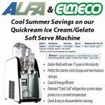 Elmeco Quickream Ice Cream Machine